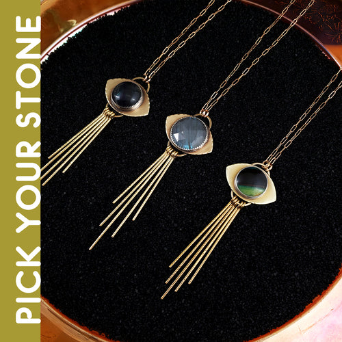 Vega Necklace - PICK YOUR STONE