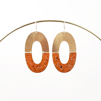 Enamel Collection - HEATHER Earrings