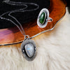 Dark Skies - Themis Necklace or Ring (LARGE) - PICK YOUR STONE