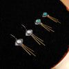 Astrid Eye Earrings - PICK YOUR STONE