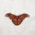 Wooden Necklace - Atlas Moth