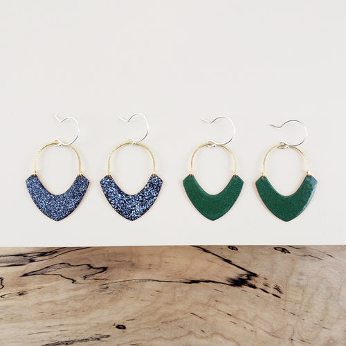 Enamel Collection - JEAN Earrings