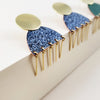 Enamel Collection - LENORE Post Earrings