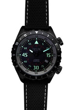 Load image into Gallery viewer, SKY 1914 AUTO FLYER - BLACK/GUNMETAL (5008) - Wrist Check Monthly