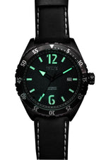 Load image into Gallery viewer, OCEAN 1908 DEEP WAVE - BLACK/GUNMETAL (1001) - Wrist Check Monthly