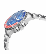 Load image into Gallery viewer, DAYNIGHT 41 TRITDIVER T-100 TRITIUM TUBES AUTOMATIC BLUE / RED BEZEL- BLUE DIAL - Wrist Check Monthly