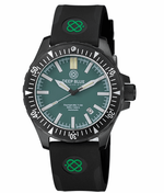 Load image into Gallery viewer, DAYNIGHT MIL T100 TRITIUM GREEN FLAT TUBES - PVD CASE / GREEN DIAL BRACELET - Wrist Check Monthly