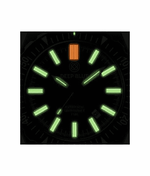 Load image into Gallery viewer, DAYNIGHT MIL T100 TRITIUM GREEN FLAT TUBES - BLACK DIAL - Wrist Check Monthly