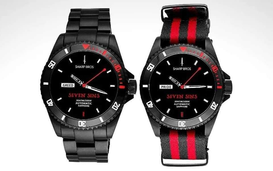 Seven Sins Automatic - Wrist Check Monthly