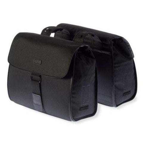 Image of Basil Noir Double Business Cycling Bag