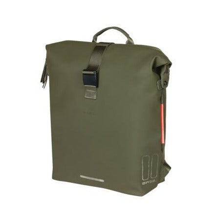 Basil SoHo Bicycle Backpack - 17 Litre Green