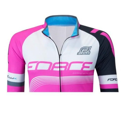 Maillot manches longues femme FORCE Lux - Rose
