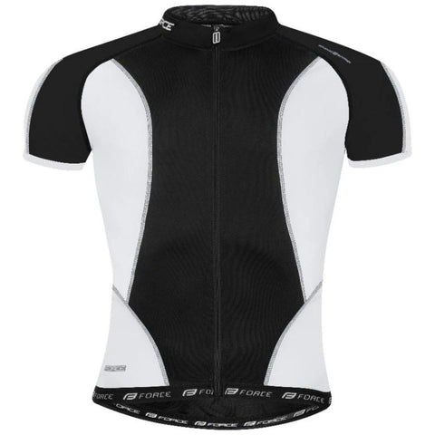 Image of Maillot manches courtes FORCE T12 - Noir Blanc
