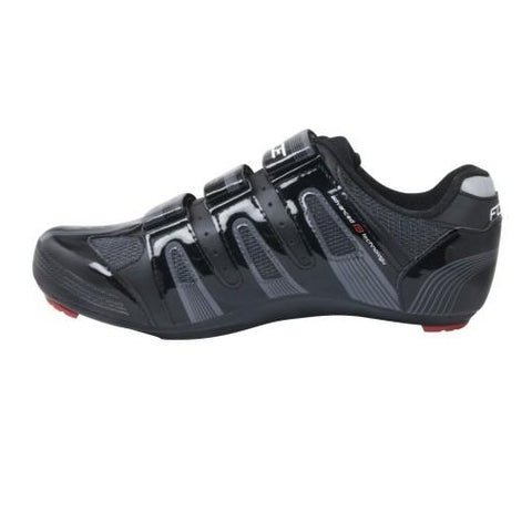 Zapatillas de ciclismo de carretera Force - Negro