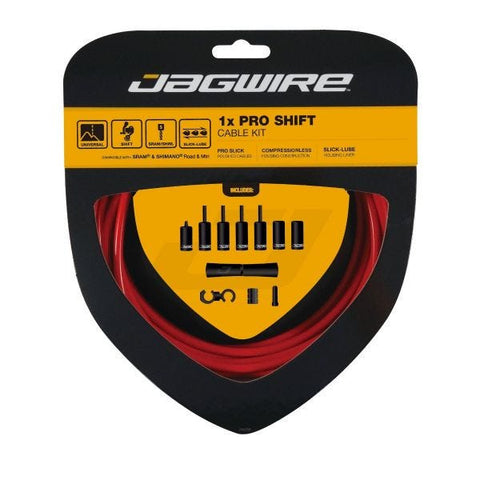 Jagwire 1x Pro Shift Kit Red