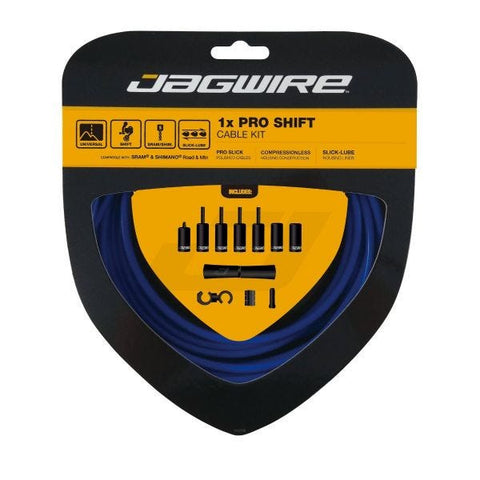 Jagwire 1x Pro Shift Kit Blue