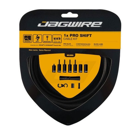 Jagwire 1x Pro Shift Kit Stealth Black