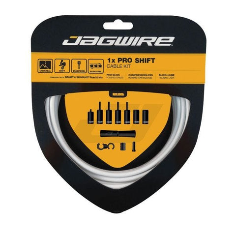 Jagwire 1x Pro Shift Kit White