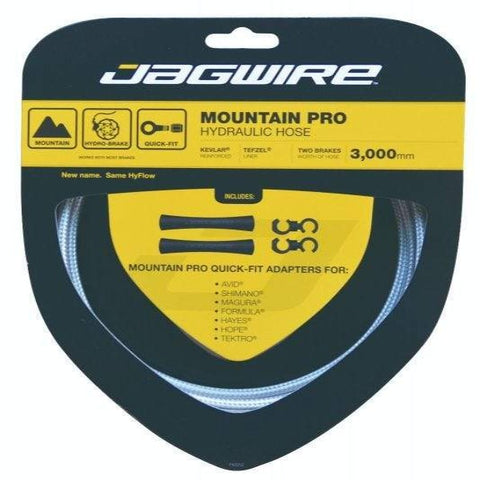 Jagwire Mountain Pro Hydraulic Hose Kit - Silver