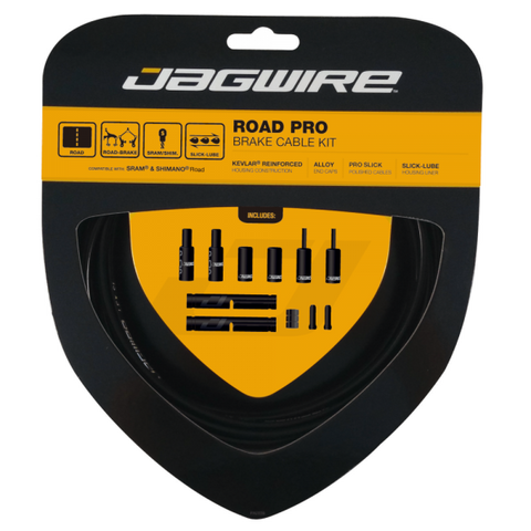 Jagwire Road Pro Brake Cable Kit - Black