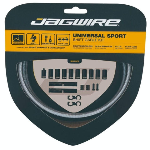 Jagwire Universal Sport Shift Cable Kit - Silver