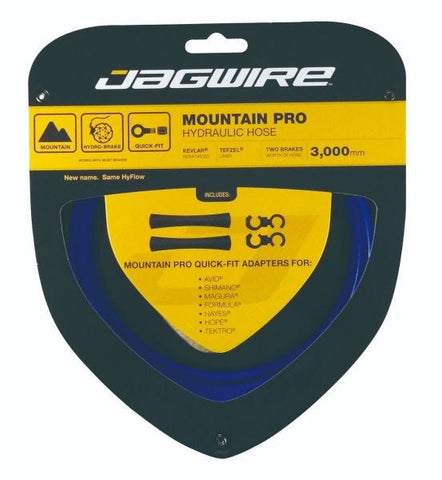Jagwire Mountain Pro Hydraulic Hose Kit - Blue