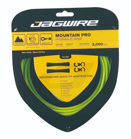 Jagwire Mountain Pro Hydraulic Hose Kit - Green