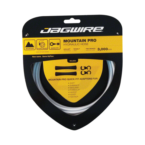 Jagwire Mountain Pro Hydraulic Hose Kit - White