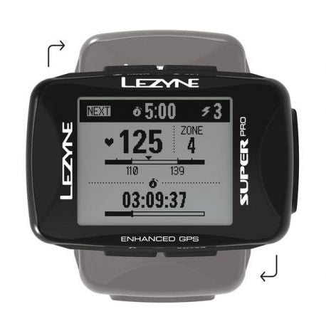Ordinador de bicicleta LEZYNE Super Pro GPS HR Loaded