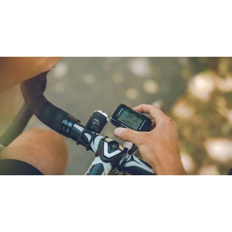 Imatge de l'ordinador de bicicleta LEZYNE Super Pro GPS HR Loaded