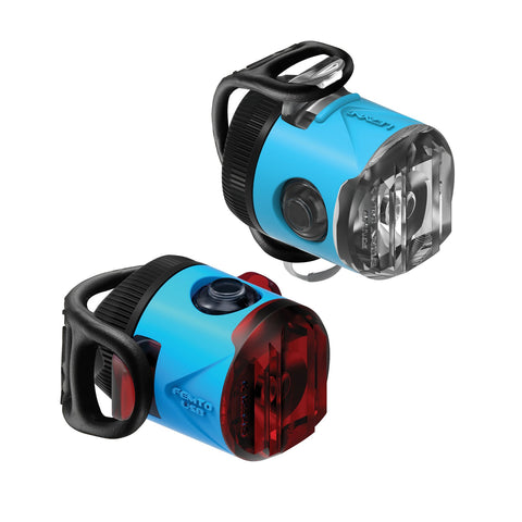 Lezyne Femto USB-Laufwerk LED Bike Light Set Blau