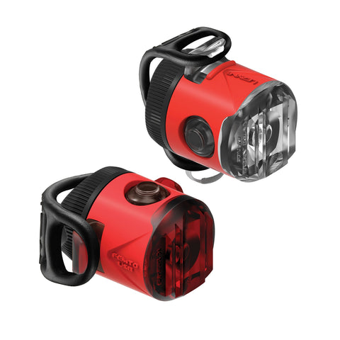 Lezyne Femto USB-Laufwerk LED Bike Light Set Rot