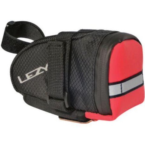 Lezyne M-Caddy Saddle Bag Red and Black