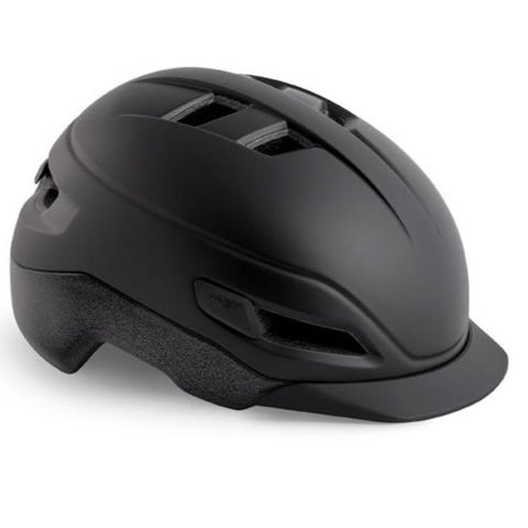 MET Grancorso E-Bike Urban Bike Helmet Black Reflect