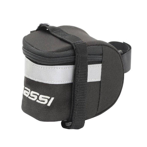 Massi Medium Saddle Bag - Black - oneillscyclestore