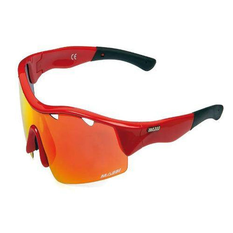 Massi Mito Sunglasses - Red