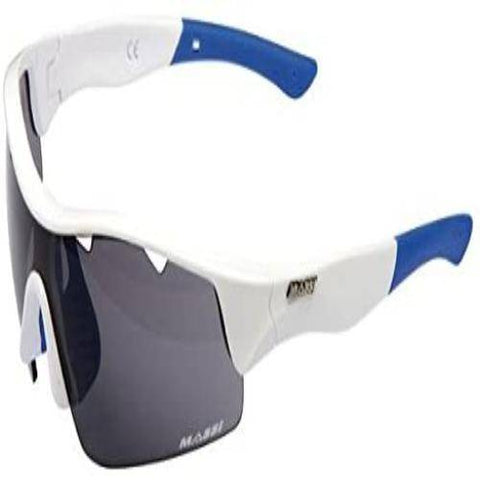 Massi Mito Sunglasses - White / Blue