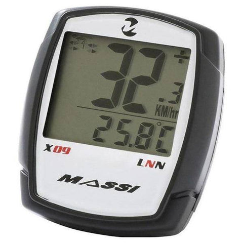 Massi X09 Cycle Computer 9 Functions - oneillscyclestore