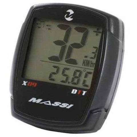 Massi X09 DTT Wireless Cycle Computer 9 Functions - oneillscyclestore