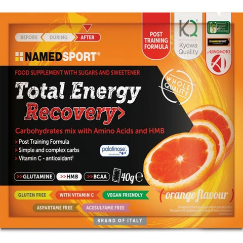 NAMEDSPORT Total Energy Recovery Drink Mix Oranje 16x40g