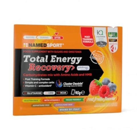 NAMEDSPORT Total Energy Recovery Drink Mix Rooi Vrugte 16x40g