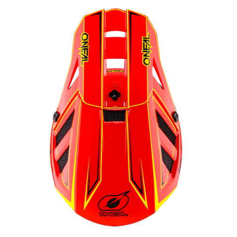 Imatge del casc integral O`Neal BLADE Hyperlite CHARGER Neon Red