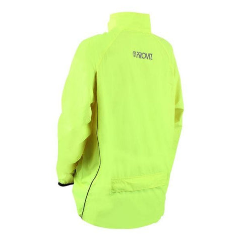 Image of Proviz Pack It Windproof Mens Jacket Yellow Small
