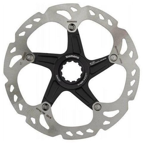 Rotor de disc de bloqueig central Shimano XT i Saint RT81 Ice Tec Center - oneillscyclestore