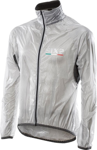 Image of SIXS MANTW Waterproof Cape Jacket Black