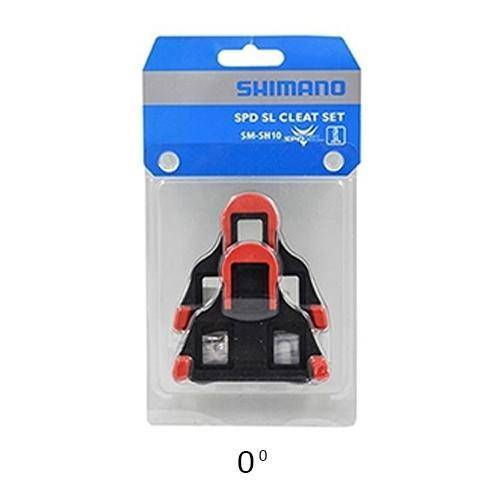 Shimano SH10 Road SPD-SL Cleats - Vermell - oneillscyclestore