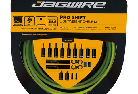 Jagwire Pro Shift Cable Kit - Green