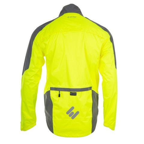 ETC Arid Force 10 Regenjacke Gelb