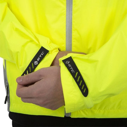Image of ETC Arid Force 10 Rain Jacket Yellow