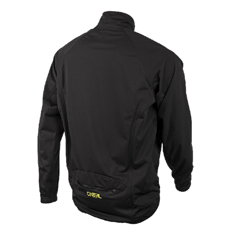 Image of O'Neal Monsoon Stretch Rain Jacket Black